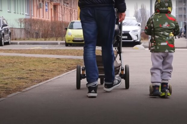 аліменти, скріншот з відео