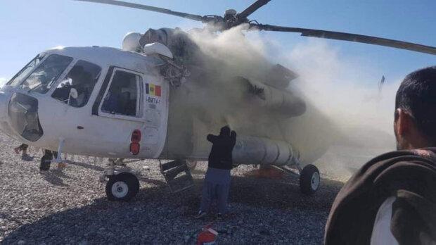 В Афганістані збили вертоліт з українцями: фото
