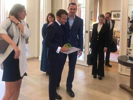 Сенцов встретился с Макроном: французский президент рассказал об истинных целях Путина