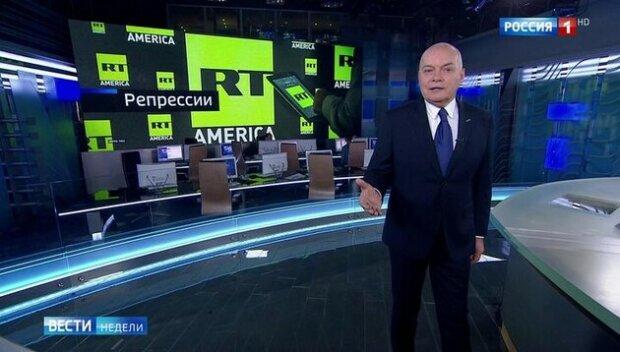 Дмитро Кисельов в програмі RT, скрін