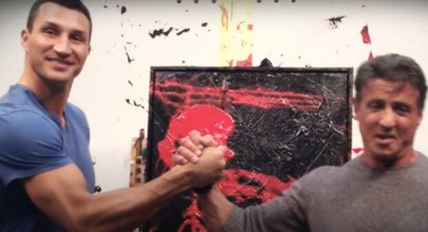 Брати Кличко покажуть сталеві рукавички в новому фільмі Сталлоне