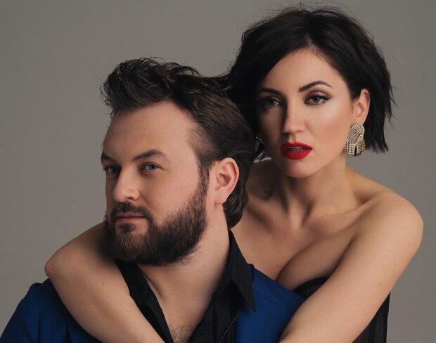 Оля Цибульская и Дзидзьо, фото с журнала Viva