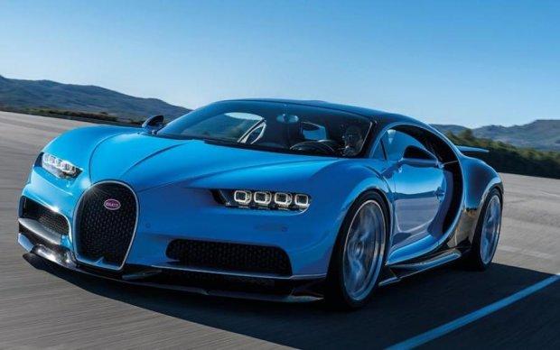 "Bugatti представили ""королевский лимузин"""