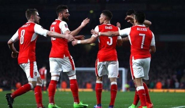 Арсенал разгромил клуб пятого дивизиона в Кубке Англии