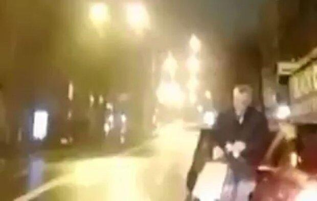 Затримання Немілостівого, кадр з відео