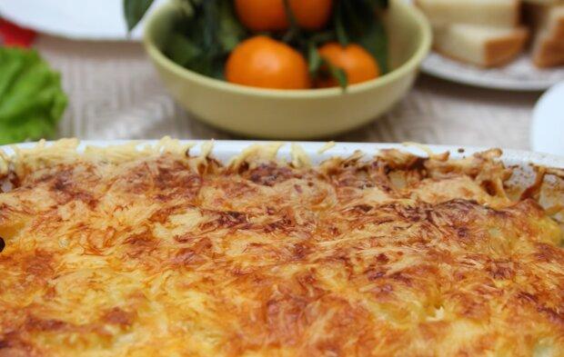 Картопляна лазанья, скріншот: YouTube