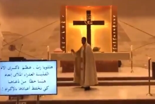 Продовжував службу до останнього: в Бейруті християнського священика засипало уламками храму