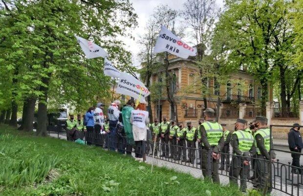 мітинг Save ФОП / фото Обозрєватєль