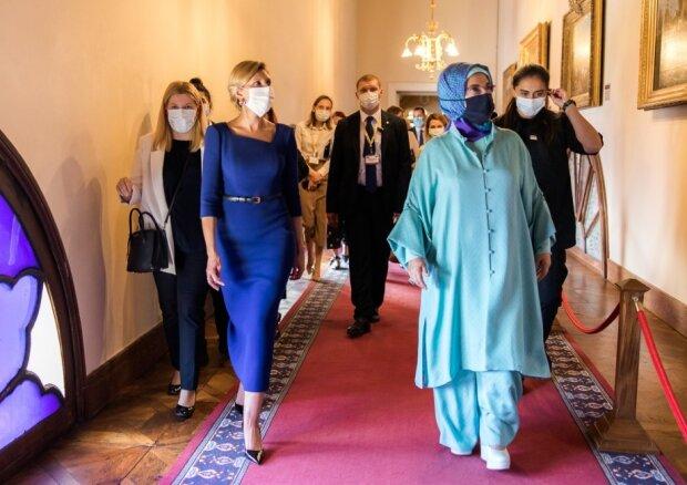 Олена Зеленська запустила в Туреччині україномовний гід, фото: president.gov.ua
