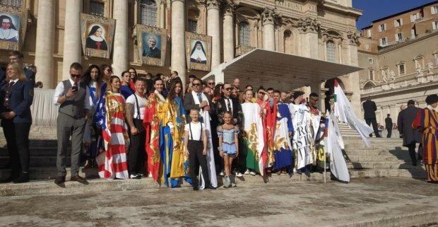 Благословив сам Папа Римський: юна гімнастка-рекордсменка з Одещини зірвала овації у Ватикані
