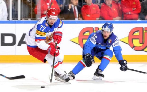 Італія - Росія 1:10 Відео найкращих моментів матчу ЧС-2017 з хокею