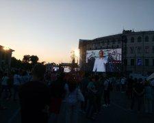 Святослва Вакарчук завершив передвиборчий тур концертом у Києві