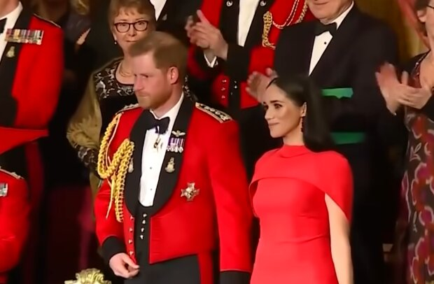Принц Гаррі і Меган Маркл, кадр з відео