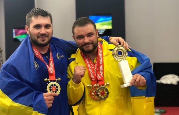 Дмитро Чумак - чемпіон Європи з важкої атлетики