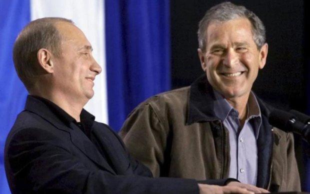 Буш раскрыл рецепт позорной популярности Путина
