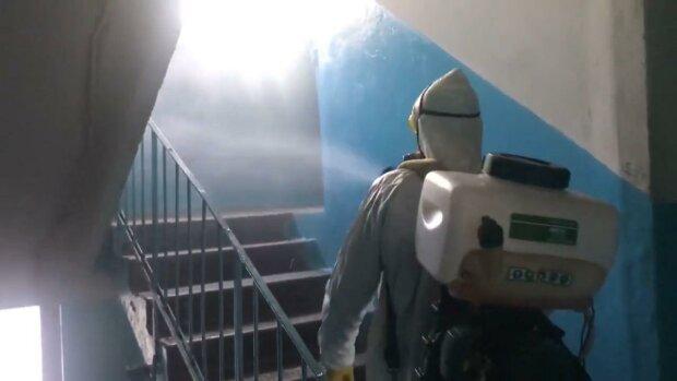 дезінфекція / скріншот з відео