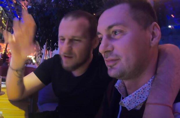 Александр Алиев и Артем Милевский, скриншот: YouTube