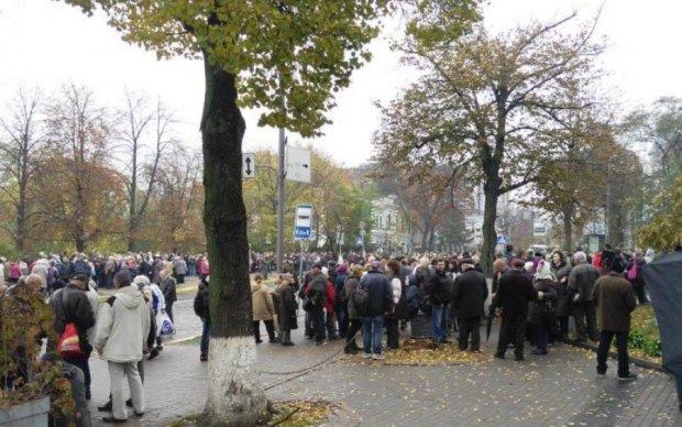 Зіткнення в Києві: мітингувальники озвучили свої плани