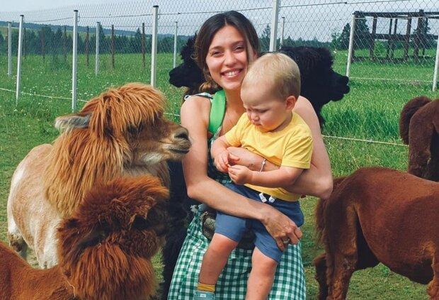 Регина Тодоренко с сыном Мишей, фото - https://www.instagram.com/reginatodorenko/