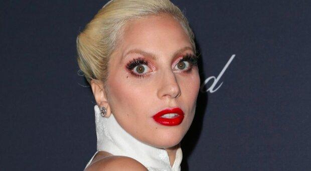 """Леді Гага впала зі сцени разом з фанатом, """"фокус"""" не вдався: епічне відео"""