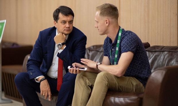 Разумков заговорив про кандидатуру кума Путіна на посаду віце-спікера