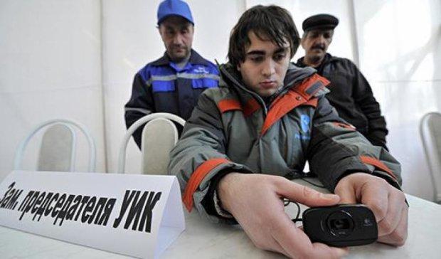 Росія не має грошей для камер відеоспостереження на виборах