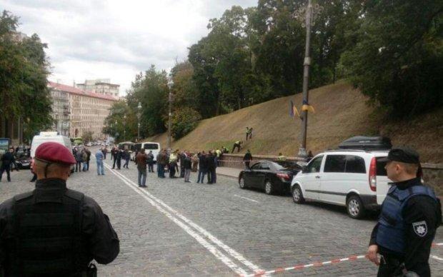 Стало відомо, хто постраждав внаслідок вибуху в центрі Києва