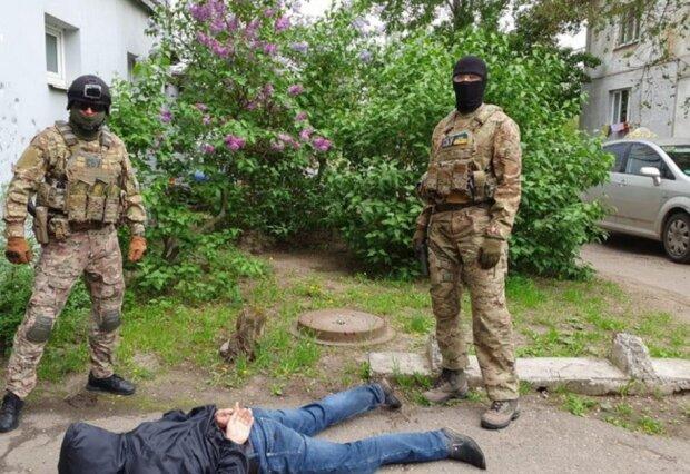 Задержание, фото: ssu.gov.ua