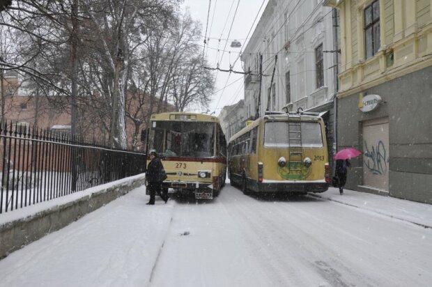 """Чернівчанин з дитиною на руках мало не став жертвою схибленого водія: """"Тролейбус смерті"""""""