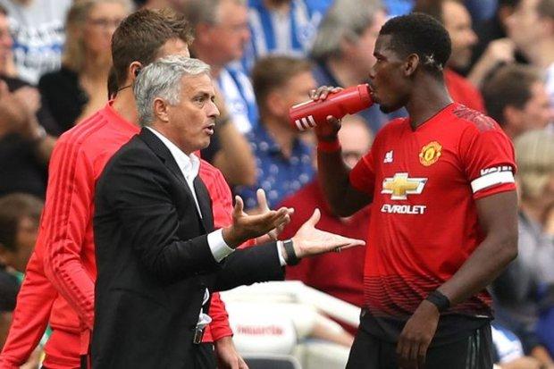 У Манчестер Юнайтед стався розкол через скандал Моурінью і Погба