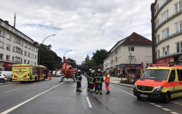 В немецком супермаркете устроили резню
