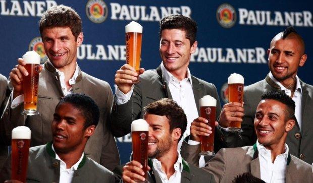 """Як гравці """"Баварії"""" відзначили розгром росіян"""