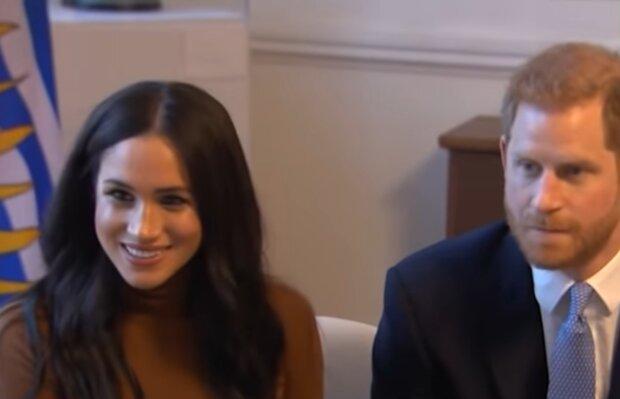 Меган Маркл і принц Гарі, скріншот: YouTube