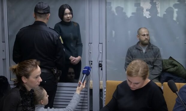 Зайцева, скріншот з відео