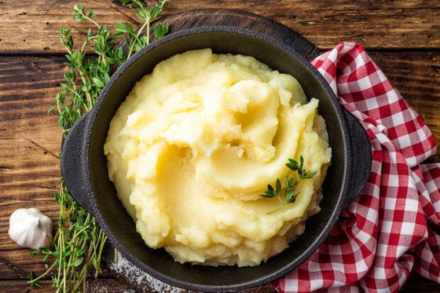 картофельное пюре, фото из свободных источников