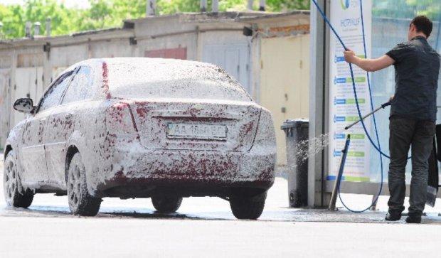 Хіт сезону:  автомобіль миємо самі