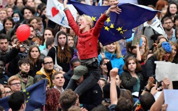 Центр Лондона заполонили противники Brexit