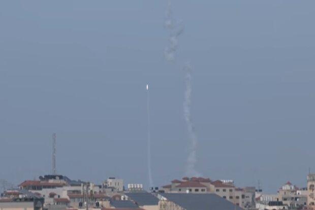 Обстріли в Ізраїлі, скріншот з відео