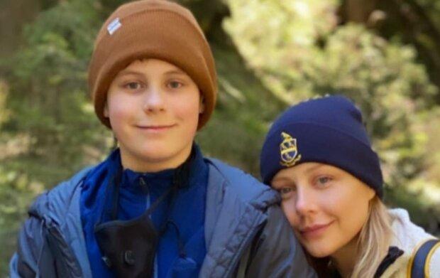 Тина Кароль с сыном, скриншот: Instagram