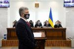 Петро Порошенко в суді, скрін з відео