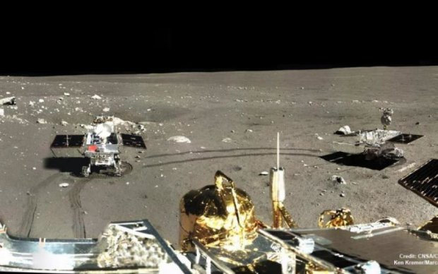 Зонд виявив стародавню печеру на Місяці