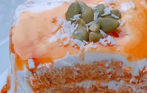 Морковное пирожное, instagram.com/pp_legko_i_vkusno