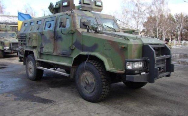 Бронеавтомобили Козак испытали на бездорожье