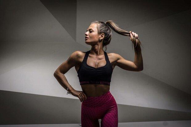 Юлия Мишура - популярная фитнес-модель