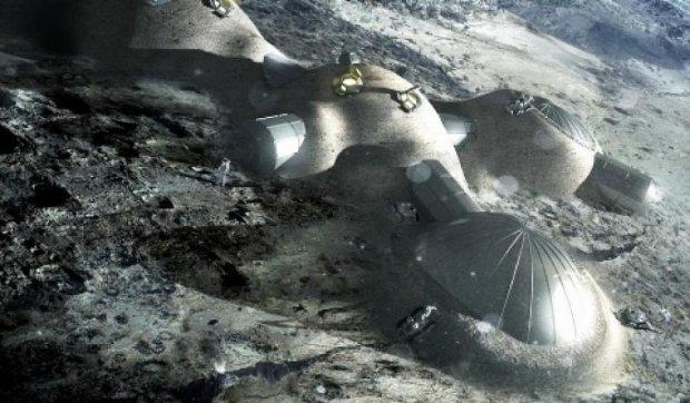 На Місяці побудують поселення житло з місцевого пилу