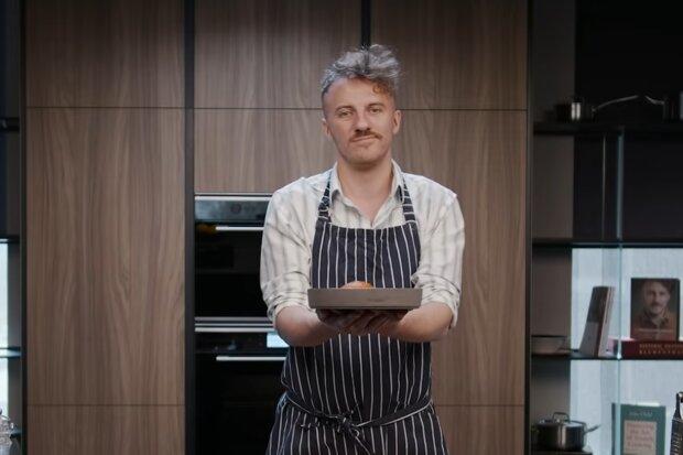Курица по рецепту Евгения Клопотенко, скриншот с видео