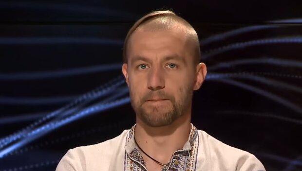 Михаил Гаврилюк, скриншот из видео