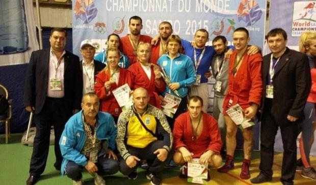 Украинцы завоевали еще шесть медалей на чемпионате мира по самбо