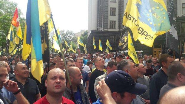 АвтоЕвроСила, митинг евробляхеров - фото Знай.uа