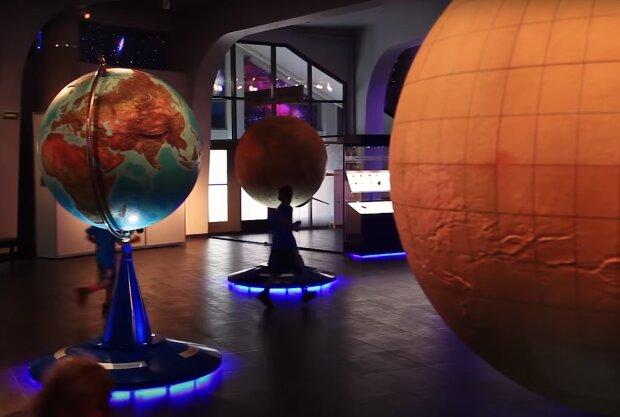 Астрономічний музей. Скрін, відео YouTube